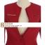 Pre-Order เสื้อสูททำงานแขนยาว เสื้อสูทผู้หญิง สูทลำลอง สีไวน์แดง แฟชั่นชุดทำงานสไตล์เกาหลี thumbnail 9
