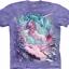 Pre.เสื้อยืดพิมพ์ลาย3D The Mountain T-shirt : Aurora Unicorn thumbnail 1