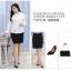 (Pre-order) เสื้อเชิ้ตทำงาน เสื้อเชิ้ตผู้หญิงแขนยาว สีขาว ไซส์ใหญ่ thumbnail 8