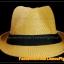 หมวกสาน ทรงไมเคิล สีน้ำตาลอ่อนขอบเรียบ แถบดำ ฮิตๆ !!! thumbnail 2