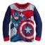 z Captain America PJ Pal for Boys thumbnail 3