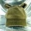 หมวก Bear หูหมี ขนสัตว์นุ่มๆ สีน้ำตาลเทาอมเขียว thumbnail 2