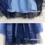 เสื้อผ้าเด็ก เดรสสีน้ำเงิน ชุดออกงานเด็ก ชุดใส่ออกงาน thumbnail 3