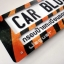 กรอบป้ายทะเบียนรถยนต์ CARBLOX ระหัส CB 0030 ลายสัตว์น่ารัก CUTE ANIMALS. thumbnail 3