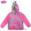 """ฮ """" S-M-L-XL """" เสื้อแจ็คเก็ต My Little Pony เสื้อกันหนาว เด็กผู้หญิง สีชมพู รูดซิป มีหมวก(ฮู้ด) ใส่คลุมกันหนาว กันแดด สุดเท่ห์ ใส่สบาย ลิขสิทธิ์แท้ (ไซส์ S-M-L-XL ) thumbnail 2"""