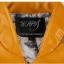 Pre-Order เสื้อแจ๊คเก็ตหนัง PU แบบทูโทน คุณภาพดี ตัดเข้ารูป สไตล์เกาหลีสีเหลือง thumbnail 3