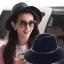 Pre-order หมวกผ้าขนสัตว์อินเดียน่าโจนหมวกเท่ ๆ หมวกแฟชั่นสไตล์วินเทจ กันแดด กันแสงยูวี สีน้ำเงิน thumbnail 3
