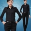 (Pre-order) เสื้อเชิ้ตทำงาน เสื้อเชิ้ตผู้หญิงแขนยาว เชิ้ตดำ แฟชั่นเกาหลี ไซส์ใหญ่ thumbnail 4