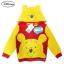 ฮ ( Size S-M-L ) Jacket Disney Winnie The Pooh เสื้อแจ็คเก็ต เสื้อกันหนาวแขนยาว เด็กผู้ชาย สกรีนลาย หมีพู เหลือง/แดง รูดซิป มีหมวก(ฮู้ด)สีเหลือง ใส่คลุมกันหนาว กันแดด ใส่สบาย ดิสนีย์แท้ ลิขสิทธิ์แท้ (Size S-M-L) thumbnail 1