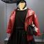 เสื้อแจ็คเก็ตหนัง Pu สีแดง thumbnail 1