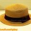 หมวกสาน ทรงขนมเค้ก สีน้ำตาล คาดแถบผ้าโบว์สีดำ คุณหนูๆ ฮิตๆจ้า !!! thumbnail 1