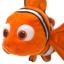 Z Nemo Plush - Finding Nemo - Mini Bean Bag - 9'' thumbnail 2