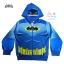 """"""" S-M-L-XL """" เสื้อแจ็คเก็ต เสื้อกันหนาว เด็กผู้ชาย เสื้อกันหนาวเด็ก BAT MAN รูดซิป มีหมวก(ฮู้ด)สกรีนหน้า BAT MAN ใส่คลุมกันหนาว กันแดด สุดเท่ห์ ใส่สบาย ลิขสิทธิ์แท้ (ไซส์ S-M-L-XL ) thumbnail 9"""