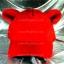 หมวก Bear หูหมี ขนสัตว์นุ่มๆ สีแดง !!! thumbnail 1