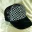 หมวกแก๊ป Cap สีดำลายหมากรุก thumbnail 4