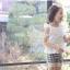 กางเกงเลกกิ้งขาสั้นเด็กผู้หญิง PinkIdeal thumbnail 3