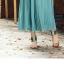 Pre-Order กระโปรงพลีท ผ้าชีฟอง ปี 2014 สไตล์โบฮีเมียน ราคาเบา ๆ น่าเป็นเจ้าของที่สุด สีเขียว thumbnail 5