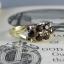 Pre-Order แหวนทองพลอยโกเมน แหวนทองสไตล์วินเทจ โบฮีเมียน แหวนทองสไตล์ของเก่าประมาณปี 1950s thumbnail 3