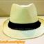 หมวกสาน ทรงไมเคิล สีขาวขอบเรียบ แถบดำ ฮิตๆ เท่ห์ !!! thumbnail 4