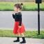 กระโปรงเด็กสีแดง PinkIeal thumbnail 4