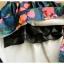 Pre-order กระโปรงพลีท จีบใหญ่ ผ้าขีฟองพิมพ์ดอกไม้ แฟชั่นเรโทรย้อนยุค กระโปรงยาว thumbnail 8