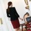 พรีออเดอร์ เสื้อสูททำงาน เสื้อสูทผู้หญิง แฟชั่นเสื้อสูทสไตล์เกาหลี thumbnail 7