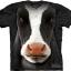 Pre.เสื้อยืดพิมพ์ลาย3D The Mountain T-shirt : Black Cow Face thumbnail 1