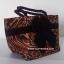 กระเป๋าถือ นารายา Size S ผ้าคอตตอน ลายเสือ ผูกโบว์ สีดำ สายหิ้ว หูเกลียว (กระเป๋านารายา กระเป๋าผ้า NaRaYa กระเป๋าแฟชั่น) thumbnail 1