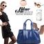 (Pre-order) กระเป๋าสะพายหนังแท้แบบเรียบหรู แฟชั่นกระเป๋าถือ กระเป๋าสะพายสไตล์ยุโรป อเมริกา สีน้ำเงิน Sapphire thumbnail 3