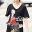 Seoul Secret Say's .... Olivia Squin Dress Material : มินิเดรสผ้ายืด น่ารักๆ ด้วยงานเย็บแต่งด้วยลายโอลีฟ เติมความสวยด้วยงานแต่งวิ้งสีแดงที่ตัวลาย ใส่ชิลล์ในวันสบายๆ เหมาะมากคะ เติมด้วยรองเท้าเก๋ๆ ซักคู่ก็ดูดีชิคมากคะ thumbnail 4