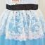เสื้อผ้าเด็กสไตล์คุณหนู ชุดราตรีเด็ก ชุดออกงานเด็ก Phelfish สีฟ้า thumbnail 8