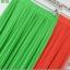 Pre-Order กระโปรงพลีท ผ้าชีฟอง สไตล์โบฮีเมียน ความยาว 50 - 96 cm.สีเขียวอ่อนกับสีส้ม thumbnail 1