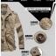 Pre-order เสื้อแจ็คเก็ต เสื้อคลุมกันหนาว กันหนาว แฟชั่นสไตล์อเมริกันคลาสสิก อปก หนุ่มมาดเท่ ขาลุย สีดำ NIAN Jeep thumbnail 4