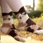 [Preorder] เซ็ทถุงเท้าแมว 4 คู่ thumbnail 3