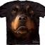 Pre.เสื้อยืดพิมพ์ลาย3D The Mountain T-shirt : Rottweiler Face thumbnail 1