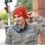 (Pre-order) หมวกไหมพรม เส้นใยสังเคราะห์ ถักทอเนื้อแน่น หมวกกันหนาวได้ดี แบบสวย เรียบง่าย แต่ไม่ธรรมดา สะท้อนความเป็นตัวของตัวเองของคุณ สีแดง thumbnail 1