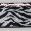 กระเป๋าสตางค์ นารายา ผ้าคอตตอน ลายม้าลาย สีขาว-ดำ ( กระเป๋านารายา กระเป๋าผ้า NaRaYa ) thumbnail 1