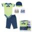 Gift Set เซ็ทของขวัญเด็กแรกเกิด Luvable Friends เสื้อยืด กางเกงขายาว หมวก ถุงเท้า thumbnail 2