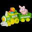 Z Sesame Street Ernie Farm Train Playskool thumbnail 2