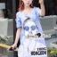 Seoul Secret Say's... Chill Open Shoulder Denim Dress Material : เดรสยีนส์เดนิมเก๋ๆ ชิคๆ ด้วยทรงเดรสเว้าไหล่ เก๋ๆ ด้วยงานพิมพ์ลายสาวแว่น เติมความเก๋ด้วยงานประดับด้วยวิ้งเลื่อมๆ ที่แว่นนะคะ ทรงเก๋น่าใส่ ใส่แมตซ์กับรองเท้าผ้าใบก็สวยเก๋แล้วคะ thumbnail 4