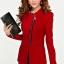 Pre-Order เสื้อสูททำงาน เสื้อสูทผู้หญิง สูทลำลอง แขนยาว แฟชั่นชุดทำงานสไตล์เกาหลี สีเเดง thumbnail 1
