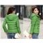 Pre-Order เสื้อโค้ทผู้หญิงแฟชั่น สีเขียว มีฮู๊ด แขนยาว แฟชั่นเกาหลี thumbnail 1