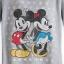 เสื้อแขนยาว ผู้ใหญ่ Mickey and Minnie Mouse Long Sleeve Thermal Tee for Women thumbnail 2