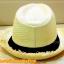 หมวกสาน ทรงไมเคิล สีขาวครีม รอบลุ่ย สดเท่ห์ ฮิตๆ !!! thumbnail 4