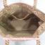 กระเป๋าสะพาย นารายา ผ้าซาตินมัน ลายตารางเล็ก สีทอง มีกระเป๋าด้านหน้า ติดโบว์เล็กๆ น่ารัก สายหิ้ว หูเปีย (กระเป๋านารายา กระเป๋าผ้า NaRaYa กระเป๋าแฟชั่น) thumbnail 8