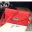 Pre-Order กระเป๋าคลัทช์ปั๊มลายตารางเนื้อมันเป็นเงา สีแดง กระเป๋าแฟชั่นผู้หญิง เปลี่ยนเป็นกระเป๋าถือออกงานหรูได้ หรือใช้เป็นกระเป๋าสะพายไหล่ได้ thumbnail 1