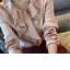 Pre-Order เสื้อผ้าชีฟอง คอกลม แขนยาว สีครีม เสื้อผ้าแฟชั่นสไตล์เรโทร วินเทจ thumbnail 4