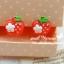 ตุ้มหูหนีบ แอ๊ปเปิ้ล 2 สี thumbnail 3