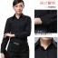 (Pre-order) เสื้อเชิ้ตทำงาน เสื้อเชิ้ตผู้หญิงแขนยาว เชิ้ตดำ แฟชั่นเกาหลี ไซส์ใหญ่ thumbnail 8