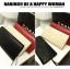 (Pre-Order) กระเป๋าคลัช, กระเป๋าแฟชั่นเกาหลี, กระเป๋าสตางค์ ปั้มลายหนังงู สีดำ thumbnail 3